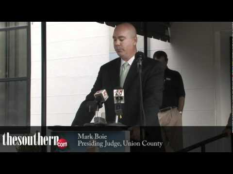 Union Co. Courthouse Groundbreaking