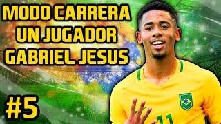 FIFA 17 Modo Carrera un jugador #5 | NO ENTIENDO PORQUE NO ME LA DAN | GABRIEL JESUS