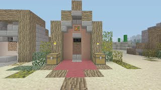 Minecraft Design for Automatic Wheat, Potato, Carrot Farm - DETAIL - XBOX / PS / PC