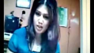 Beautiful girl on webcam 1
