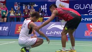 BWF World Championships 2013 Final MS Lin Dan vs Lee Chong Wei 0001