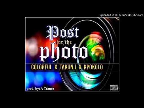 Colorful features Takun J & Kpokolo PHOTO (Liberian music 2019)