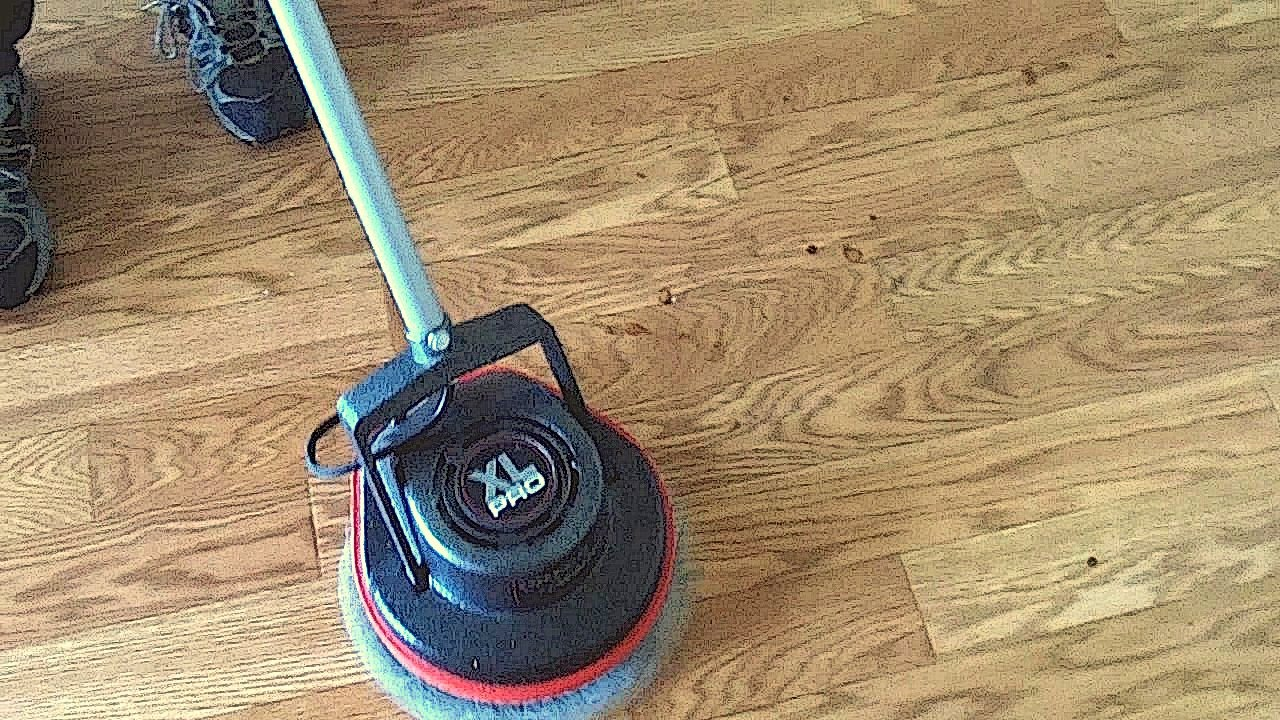 Easy diy carpet and hard floor cleaning with oreck orbiter for Wood floor cleaner diy