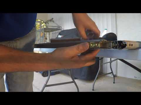 Replacing rollers and track on Aluminum sliding glass doors Part 2