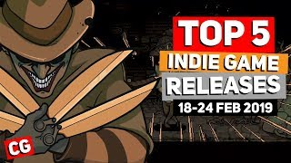 Top 5 Best Indie Game New Releases: 18-24 Feb 2019 (Upcoming Indie Games) | Snakebird Primer & more!