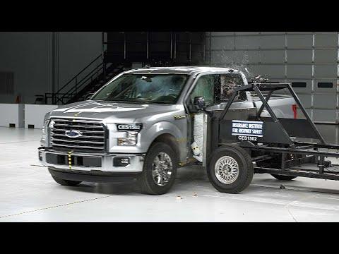 2015 Ford F-150 crew cab side test