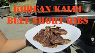 Korean Kalbi Beef Short Ribs Recipe | Kylie Eats