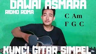 Kunci gitar simpel (Dawai Asmara - Ridho Roma) by Thoriq Bakhri tutorial gitar iu untuk pemula