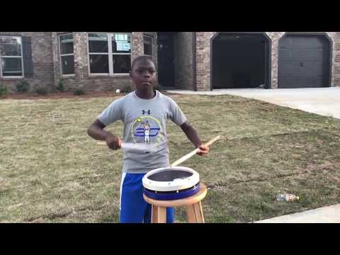 Drum line Snare Drum Solo Xymox Snare Pad