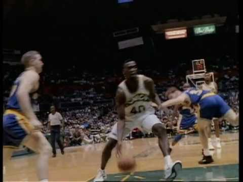 Seafirst - Shawn Kemp Commercial (Sonics)