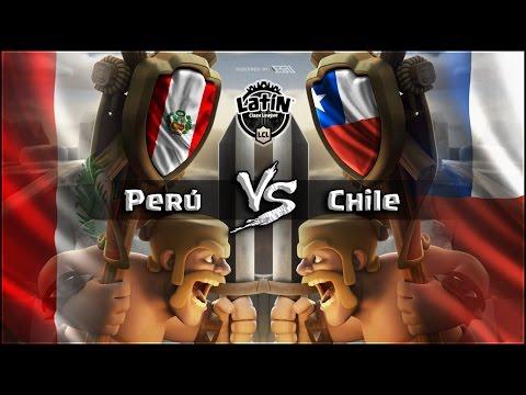 Latin Clash League: PERU Vs CHILE | Wanderch - Clash Royal