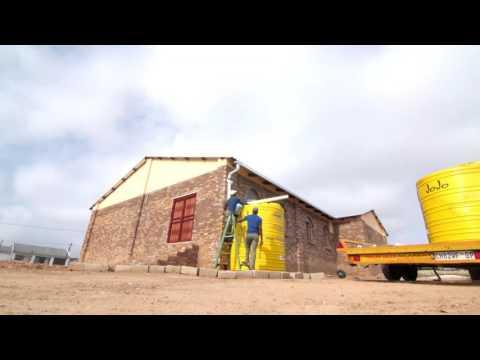 #SunlightSavesWater: All Nations Church JOJO tank Installations