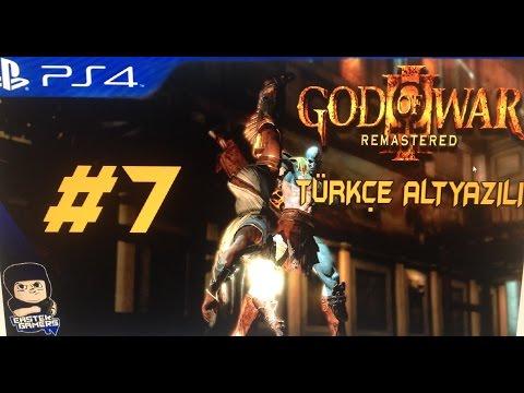 God Of War 3 Remastered PS4 Türkçe Altyazılı Bölüm 7 : ARRIVEDERCI HERMES !!!