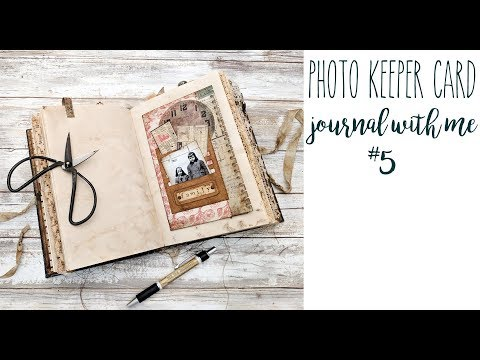 Photo Keeper Card - Journal with Me #5