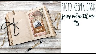 Photo Keeper Card - Journal with Me 5