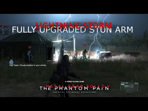MGSV: TPP - The Full Power Of The Stun Arm - Lightning God