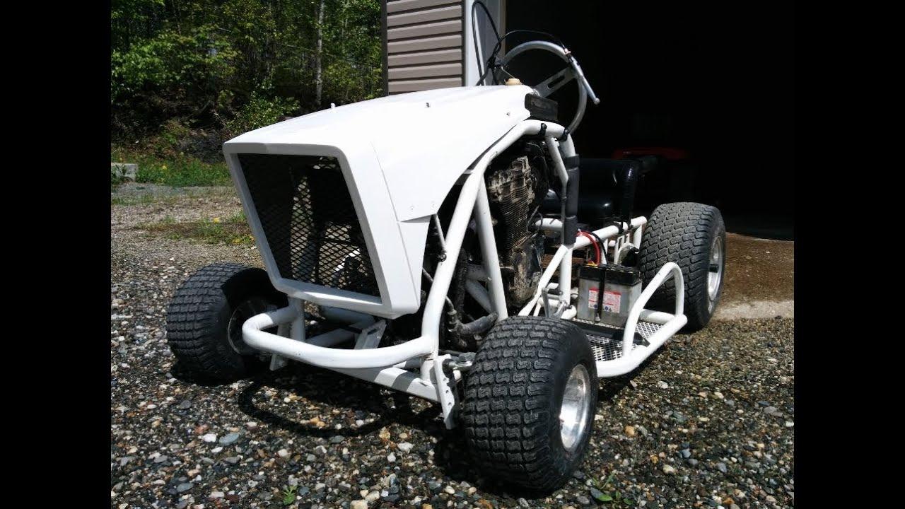 Go Kart Front Bumper : Racing mower go kart second run went well had some