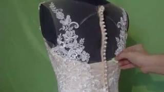Свадебное платье . Переделка