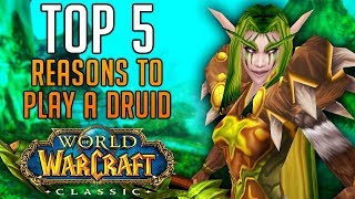 Top 5 Reasons to Play a DRUID in Classic World of Warcraft