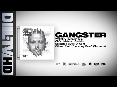 Hemp Gru - Gangster (prod. Szwed SWD, scratch/cuts DJ Cent) [DIIL.TV]