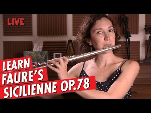Just Practicing with Amelie | Faure Sicilienne Op.78