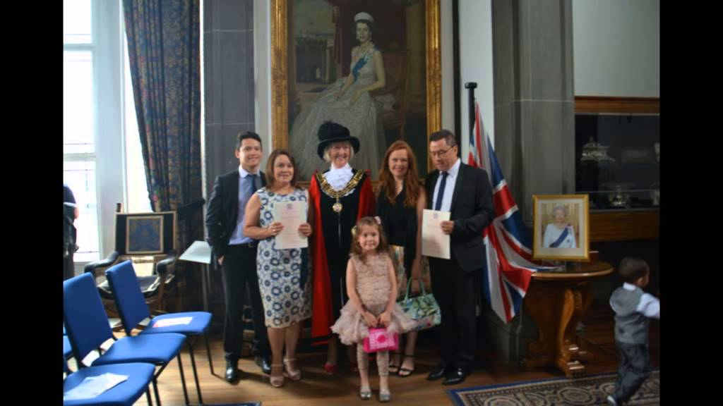 Watch - Citizenship british ceremony what to wear video