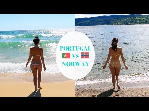 One day in my life: NORWAY vs PORTUGAL | Summer edition