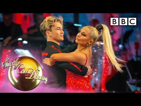 Saffron Barker And AJ Tango To 'Lips Are Moving' | Week 1 - BBC Strictly 2019