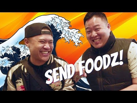 """SEND FOODZ Ep #2 - """"What Would Logan Paul Do w/ Japanese Food"""" feat. David So"""