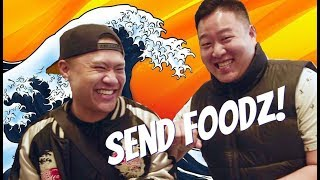"SEND FOODZ Ep #2 - ""What Would Logan Paul Do w/ Japanese Food"" feat. David So"
