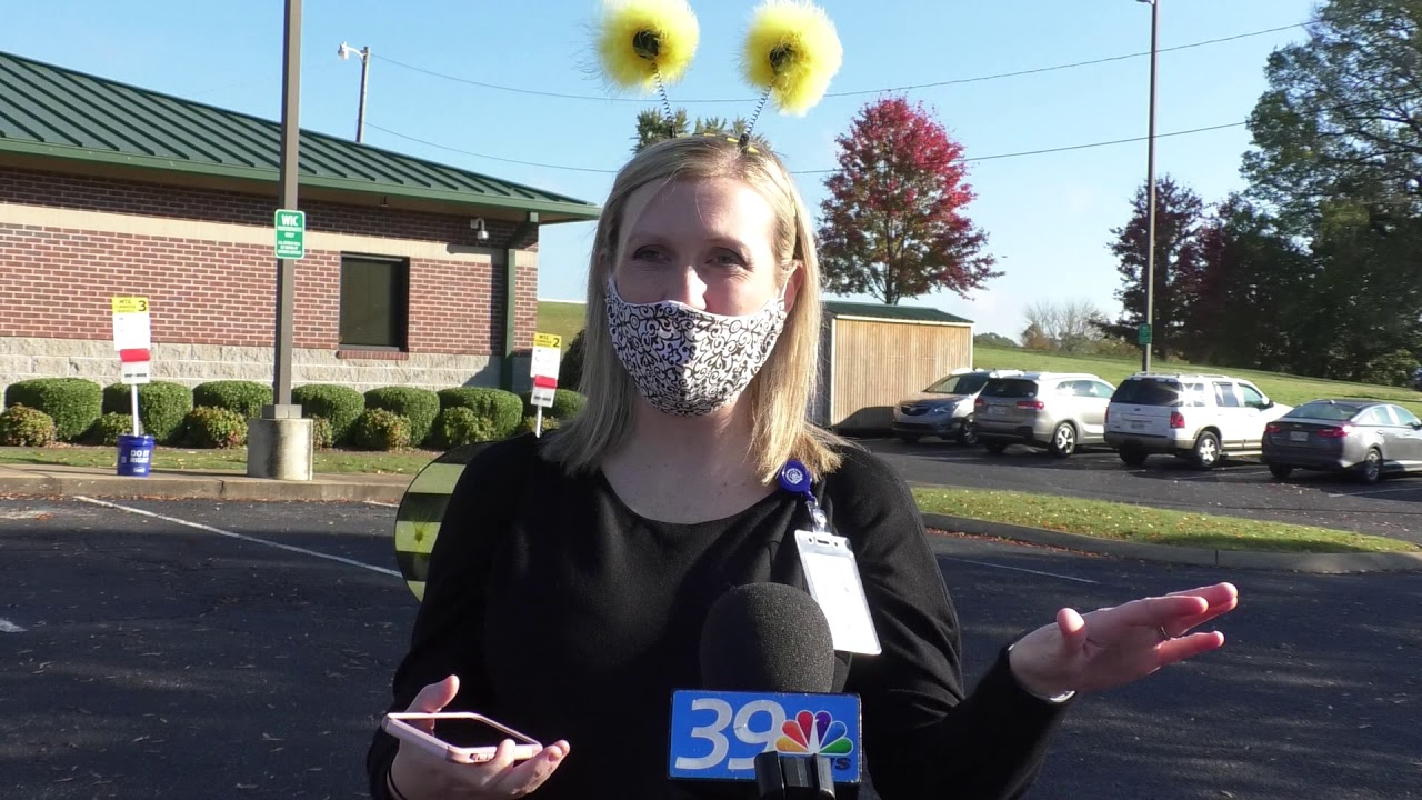 The Jackson Madison County Regional Health Department held a drive through 'WIC or Treat'