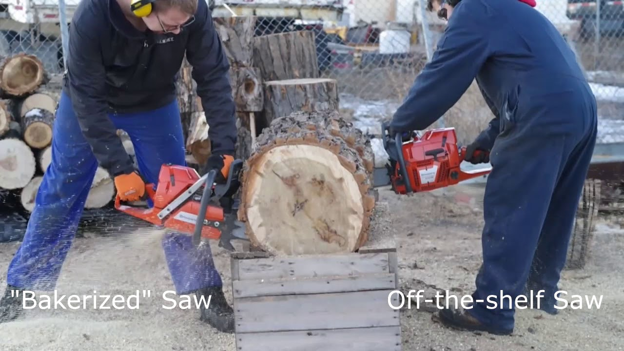 How To Hop Up A Stihl Chainsaw