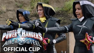 Power Rangers | Ninja Steel Official Clip - Rocking and Rolling