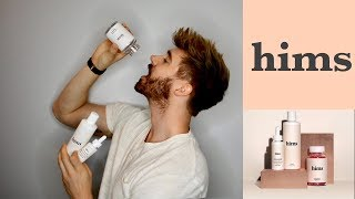 hims   HAIR KIT REVIEW (Shampoo.Minoxidil.Multivitamin)