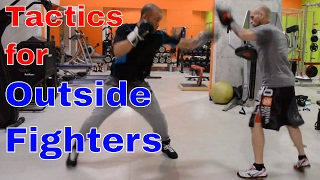Long Range Boxing Tactics | Pressure Fighters Take Note