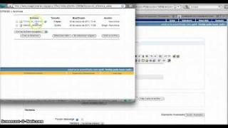 Enlazar un archivo o una web