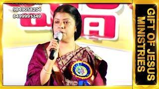 Dr.J.Preetha Judson message at Morthadu Nizambad.