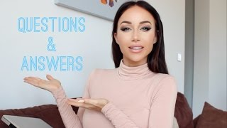 Q&A ♡ Fitness, My Weight, Tattooed Brows, Fillers etc!