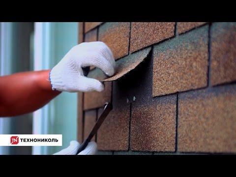Фасадная плитка ТЕХНОНИКОЛЬ HAUBERK: инструкция по монтажу