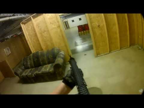 Airsoft Jag Arms Scattergun Gameplay