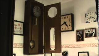Wall Clock With Weight –  Ticking
