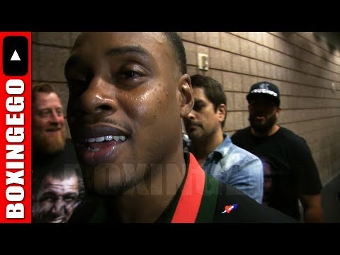 ERROL SPENCE ADMITS ADRIEN BRONER IS A DOG WHEN ASKED ABOUT BRONER/GARCIA! SAYS HE'S ONE TIME!