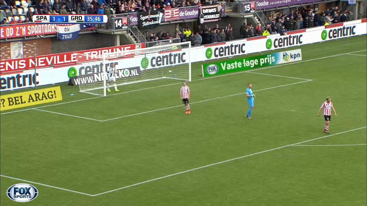 Goal Ludovit Reis Sparta Rotterdam Fc Groningen 1 1