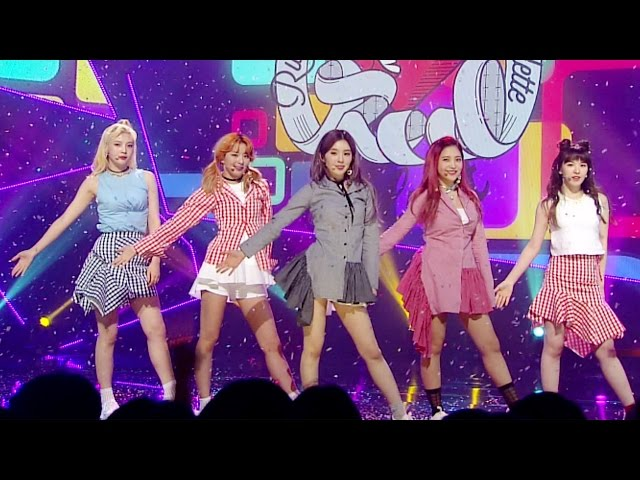 《ADORABLE》 Red Velvet (레드벨벳) - Russian Roulette (러시안 룰렛) @인기가요 Inkigayo 20161002