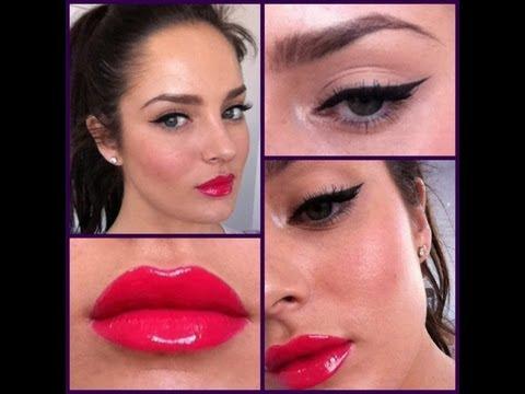 Pinup Makeup With A Modern Twist