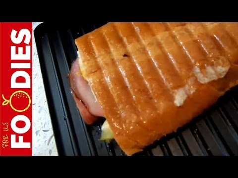 The Sandwich a Panini Press Was Made For - DELICIOUS!!!