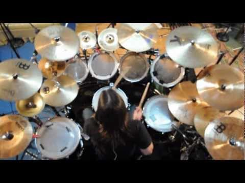 charly carret243n avenged sevenfold nightmare drum