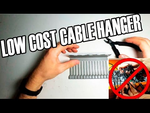 LOW COST CABLE HANGER (SUB ENG/SPA) (DIY)