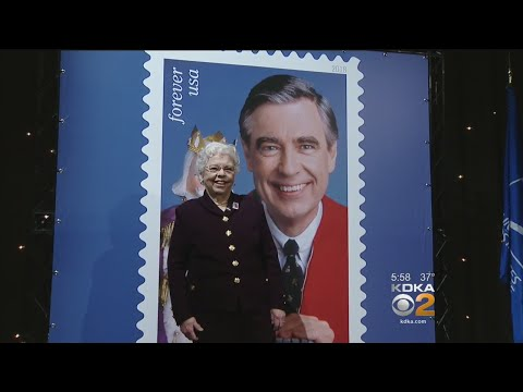 U.S. Postal Service Unveils Mister Rogers Postage Stamp