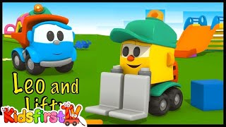 Video LEO LOVES LIFTY! - Learning Letters Construction Compilation - Leo the Truck download MP3, 3GP, MP4, WEBM, AVI, FLV Juni 2017